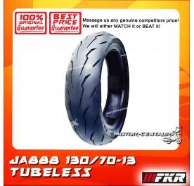 FKR TUBELESS TYRE JA888 130/70-13