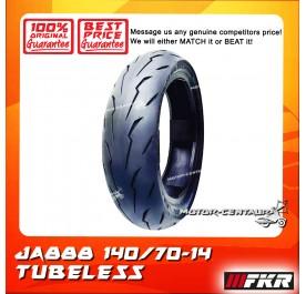 FKR TUBELESS TYRE JA888 140/70-14