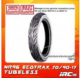 IRC TUBELESS TYRE ECOTRAX NR96 70/90-17
