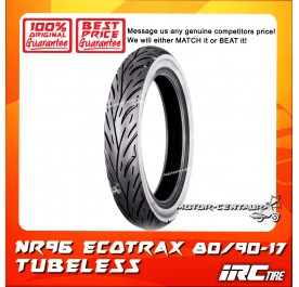 IRC TUBELESS TYRE ECOTRAX NR96 80/90-17
