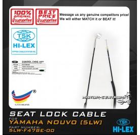 TSK SEAT LOCK CABLE 5LW-F478E-000 YAMAHA NOUVO