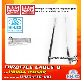 TSK THROTTLE-B CABLE 17920-K56-N10 HONDA RS150R