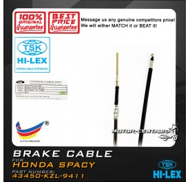 TSK BRAKE CABLE 43450-KZL-941 HONDA SPACY