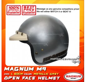 MAGNUM HELMET M9 (5 BUTTONS) GREY L