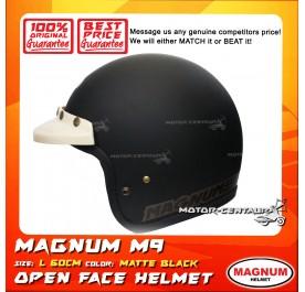 MAGNUM HELMET M9 (5 BUTTONS) MATT BLACK L