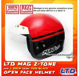 LTD HELMET MAG 5 2TONE RED-BLACK