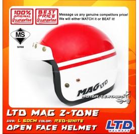 LTD HELMET MAG 5 2TONE RED-WHITE