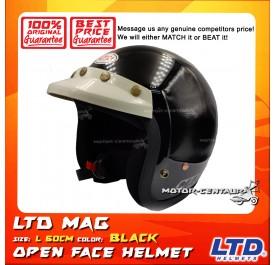 LTD HELMET MAG 5 BLACK