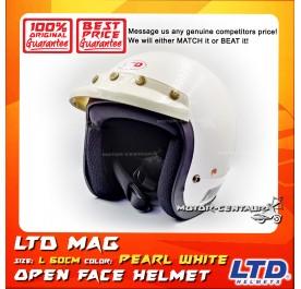 LTD HELMET MAG 5 WHITE