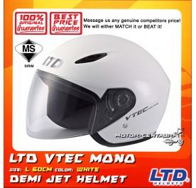 LTD HELMET VTEC MONO WHITE