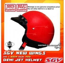 SGV HELMET NEW WINGS RED