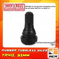 RUBBER TUBELESS VALVE TR412 SHORT (35MM) LC135