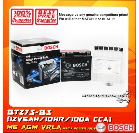BOSCH VRLA AGM BATTERY M6 MEGA POWER RIDE BTZ7S-BS (YTZ7S/0092M67006)