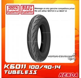 KENDA TUBELESS TYRE K6011 100/90-14