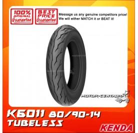 KENDA TUBELESS TYRE K6011 80/90-14