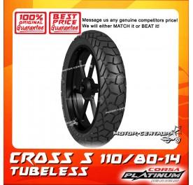 CORSA PLATINUM TUBELESS TYRE CROSS S 110/80-14