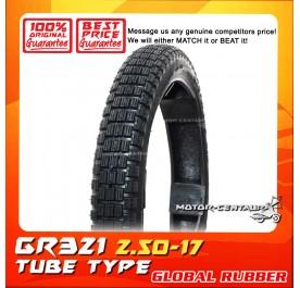 GLOBAL RUBBER TUBE-TYPE TYRE GR321 2.50-17
