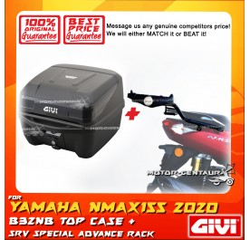GIVI B32NB TOP CASE + GIVI YAMAHA NMAX155 (MODEL AFTER 2020) SRV SPECIAL RACK