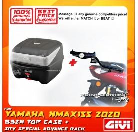 GIVI B32N TOP CASE + GIVI YAMAHA NMAX155 (MODEL AFTER 2020) SRV SPECIAL RACK