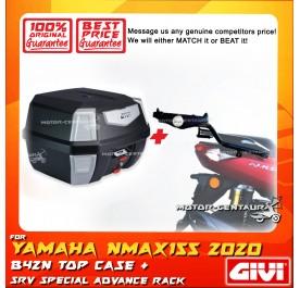 GIVI B42N TOP CASE + GIVI YAMAHA NMAX155 (MODEL AFTER 2020) SRV SPECIAL RACK