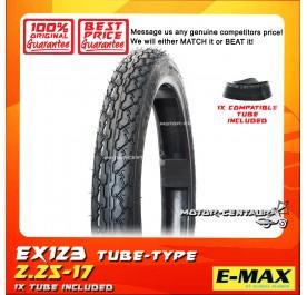 E-MAX TYRE EX123 2.25-17 + TUBES