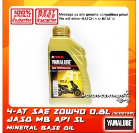 YAMALUBE (HLY) AT SCOOTER ENGINE LUBRICANT SAE 20W40 [0.8L]