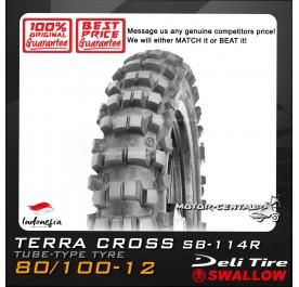 SWALLOW TYRE SB-114R TERRA CROSS 80/100-12