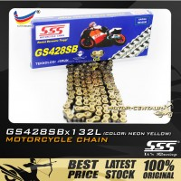 SSS CHAIN GS428SB X 132L GOLD PLATED (OUTER LAYERS ONLY)