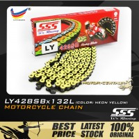 SSS CHAIN LY428SB X 132L YELLOW PLATED (OUTER LAYERS ONLY)