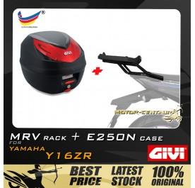 GIVI E250N TOP CASE + GIVI HONDA Y16ZR MRV MONORACK