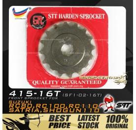 STT FRONT SPROCKET (SF1-02-16T) RC80-415-16T