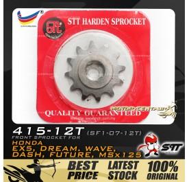 STT FRONT SPROCKET (SF1-07-12T) EX5-415-12T