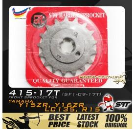 STT FRONT SPROCKET (SF1-09-17T) LC135-415-17T