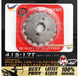 STT FRONT SPROCKET (SF1-35-17T) RXZ-415-17T