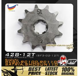 STT FRONT SPROCKET (SF3-02-12T) RC80-428-12T