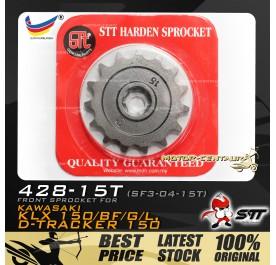 STT FRONT SPROCKET (SF3-04-15T) KLX150-428-15T