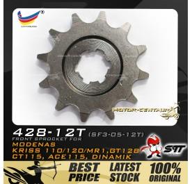 STT FRONT SPROCKET (SF3-05-12T) KRISS-428-12T