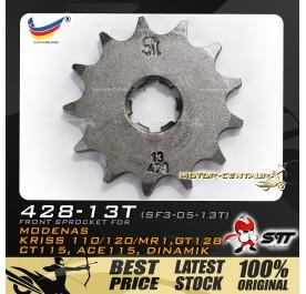 STT FRONT SPROCKET (SF3-05-13T) KRISS-428-13T