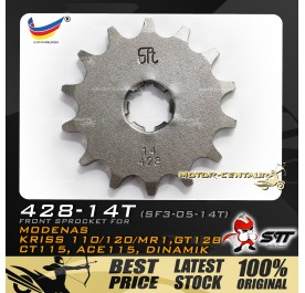 STT FRONT SPROCKET (SF3-05-14T) KRISS-428-14T