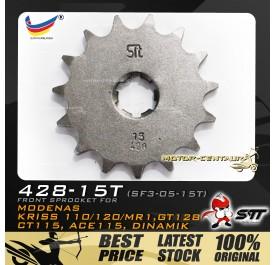 STT FRONT SPROCKET (SF3-05-15T) KRISS-428-15T