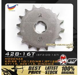 STT FRONT SPROCKET (SF3-05-16T) KRISS-428-16T