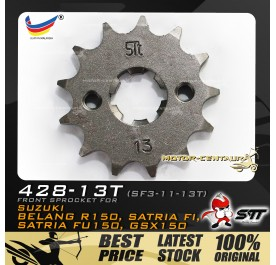STT FRONT SPROCKET (SF3-11-13T) BELANG-428-13T