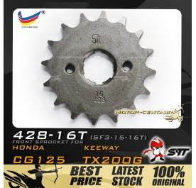 STT FRONT SPROCKET (SF3-15-16T) EVO Z 125-428-16T