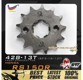 STT FRONT SPROCKET (SF3-16-13T) RS150R-428-13T