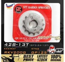 STT FRONT SPROCKET (SF3-24-13T) RKV200G-428-13T