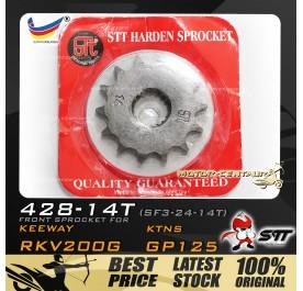 STT FRONT SPROCKET (SF3-24-14T) RKV200G-428-14T