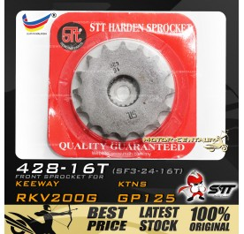 STT FRONT SPROCKET (SF3-24-16T) RKV200G-428-16T