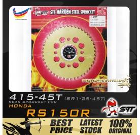 STT REAR SPROCKET (SR1-21-45T) RS150R-415-45T GOLD