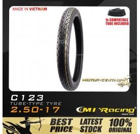 CMI RACING TYRE C123 2.50-17 + TUBE