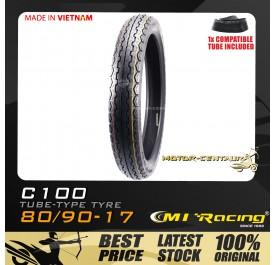 CMI RACING TYRE C100 80/90-17 + TUBE